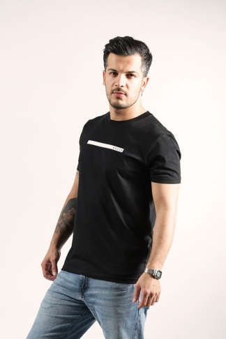Organic Cotton T-Shirt Black